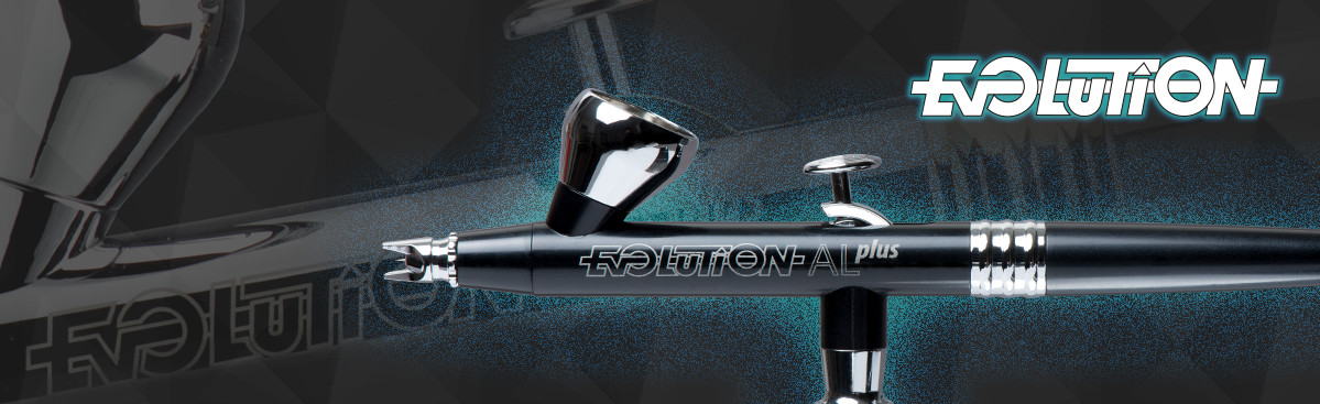 Airbrush Evolution X Two in One Saugbecher